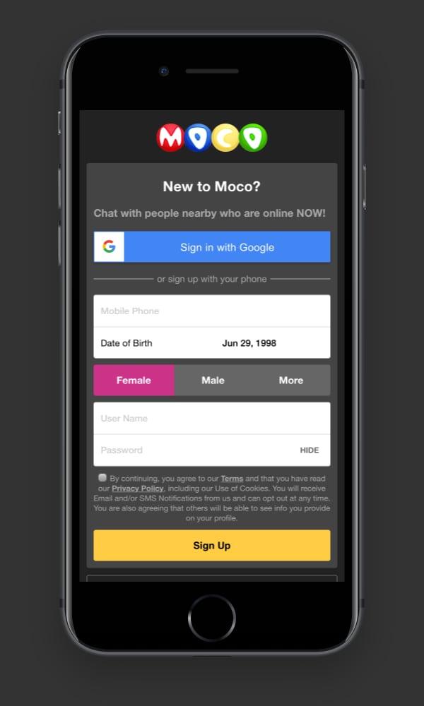 Dating sajter som MOCOSPACE